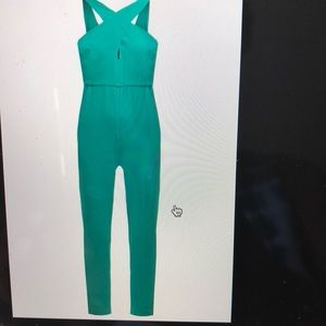 7ac0ec5e037 BCBGeneration Dresses - Dressy green jumpsuit